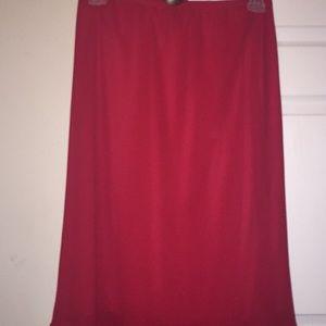 Dresses & Skirts - Red flair tell skirt